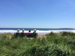 Enjoying the view, Hirtle's Beach