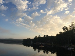 Early morning at Millett Lake, Lunenburg County